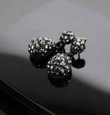 Xmas Gift Fashion Cute Lady Crystal Rhinestone Dangle Studs Earrings Jewelry