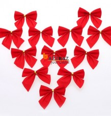 6pcs Christmas Tree Decoration Gifts Hanging Decor The Butterfly Bowknot