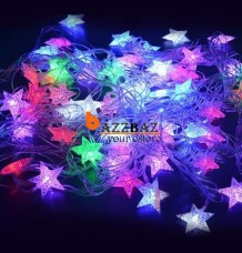 5M Colorful Star LEDs Pentagram String Christmas Decoration