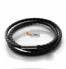 High Quality Men Leather Cord Necklace