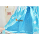 Elsa Girls Party Fancy Dress Queen Princess Costume For Ages 7-8Years (XXL)