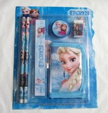 Elsa Princess Cartoon Kids School Set