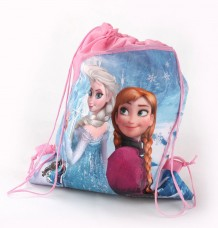 Anna & Elsa Princess Sisters  Drawstring Kids Backpack