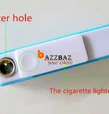 Electronic USB Cigarette Lighter with 2600mAh Power Bank