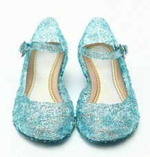 Frozen Princess Strap Jelly Shoes Sandals