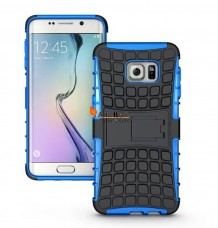 Shockproof Stand Case+Screen Film For Samsung Galaxy S7 Edge