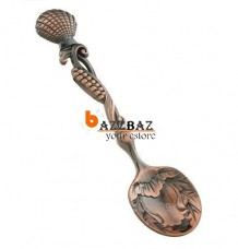 1pcs Meteore Sea Shell Design Small Coffee Spoon