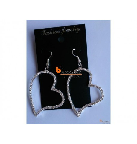 Style 7 Earring Diamond Heart