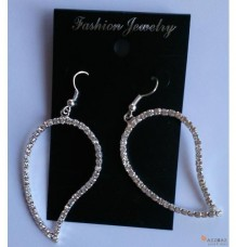 Style 6 Earring Diamond Leaf