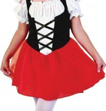 Red Riding Hood Fancy Dress Costume Age 3
