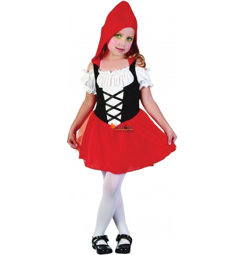 Red Riding Hood Fancy Dress Costume Age 3  sc 1 st  BazzBaz & Red Riding Hood Fancy Dress Costume Age 3 - BazzBaz