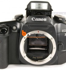 Used Canon EOS 30 Top Eye Control photo SLR 35mm Reflex XLNT