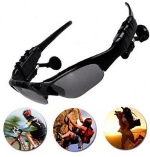 Waterproof Wireless Handfree Bluetooth Glasses Headset Headphones