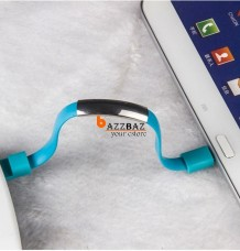 USB Cable Bracelet Charging Charge Data Sync For Android Or iPhone 5/6