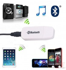 USB Bluetooth Wireless 3.5mm Stereo Audio Receiver Adapter Dongle AUX