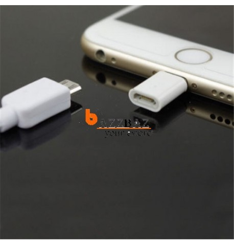 Micro USB to Lightning 8 Pin Charger Converter Adapter For iPhone 6 5 5