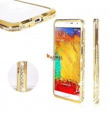 LUXURY Bumper + Display Protector Film Case Cover