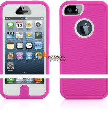 Heavy Duty Shock Proof Defender iPhone 5S Case Cover + Screen Protector