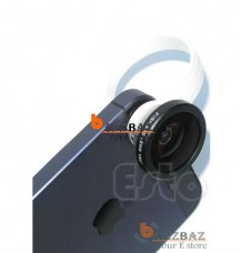 Clip Wide Angle + 180°Macro Fish Eye Lens For smartphone