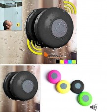 Bluetooth Waterproof Wireless Shower Handsfree Mic Suction Chuck Speaker