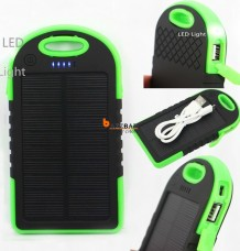 5000mAh Portable Waterproof Charger Dual USB External Battery