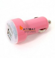 Dual 2 Port USB Car Charger for iPad iPhone 4 4G 3G 3GS iPod Touch Nano