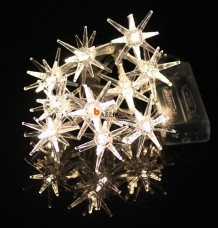 LED Star Warm White String Light Lamp Outdoor Fairy Xmas Party